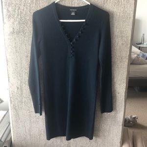 Club Monaco Evangah sweater dress in Juniper